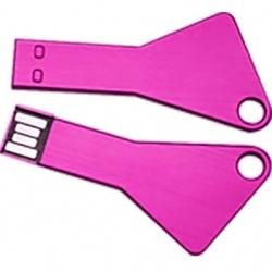 Memoria USB BRobotix 207783, 16GB, USB 2.0, Rosa