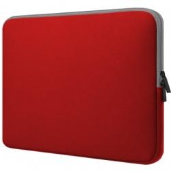 "BRobotix Funda de Neopreno 256349-5 para Laptop 15.6"", Rojo"