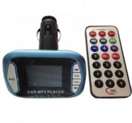 BRobotix Transmisor de Audio para Auto, USB 2.0, Azul