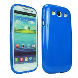BRobotix Funda 611930A para Samsung Galaxy S3, Azul
