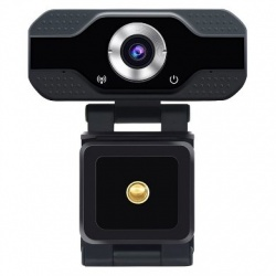BRobotix Webcam 651312, 2MP, 1920 x 1080 Pixeles, USB 2.0, Negro