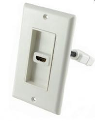 BRobotix Tapa HDMI, 1 Puerto Hembra, con Cable Pigtail