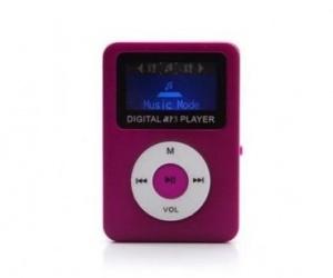 BRobotix Reproductor MP3/MP4, microSD, Púrpura