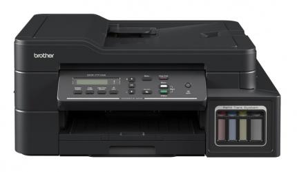 Multifuncional Brother DCP-T710W, Color, Inyección, Tanque de Tinta, Inalámbrico, Print/Scan/Copy