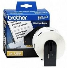 Brother Etiqueta de Dirección Pre-Cortada DK1209, 1-1/7'' x 2-3/7'', 800 Etiquetas