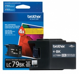 Cartucho Brother Innobella LC79BK Negro, 2400 Páginas