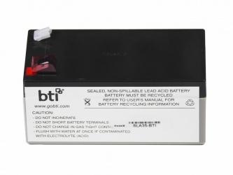 BTI Bateria de Repuesto para No Break, 12V, Negro/Gris