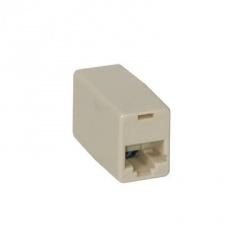 C2G Conector Modular RJ-11, 4 pin, Blanco