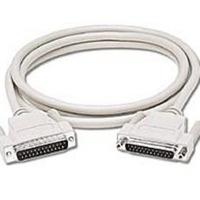 C2G Cable Serial DB25 Macho - DB25 Macho, 1.8 Metros, Blanco