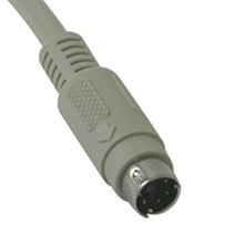 C2G Cable Teclado PS/2 Macho - PS/2 Macho, 1.8 Metros, Blanco