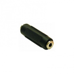 C2G Adaptador de Audio TAA 3.5mm Hembra - 3.5mm Hembra, Negro