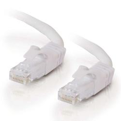 C2G Cable Patch Cat6 UTP sin Enganches RJ-45 Macho - RJ-45 Macho, 3.6 Metros, Blanco