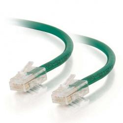 C2G Cable Patch Cat6 UTP sin Bota RJ-45 Macho - RJ-45 Macho, 1.5 Metros, Verde