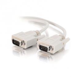 C2G Cable VGA Macho - VGA Macho, 4.5 Metros, Blanco