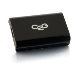 C2G Adaptador MIcro USB USB B Hembra - HDMI Hembra, Negro