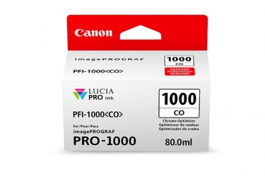 Cartucho Canon PFI-1000 Chroma, 80ml