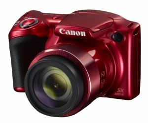 Cámara Digital Canon PowerShot SX420 IS, 20MP, Zoom óptico 42x, Rojo
