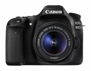 Cámara Réflex Canon EOS 80D, 24.2MP, Cuerpo + Lente 18-55mm ― ¡Compra y recibe 10% del valor de este producto para tu siguiente compra!