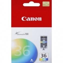 Cartucho Canon CLI-36 Color, 250 Páginas
