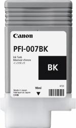 Tanque de Tinta Canon PFI-007BK Negro, 90ml