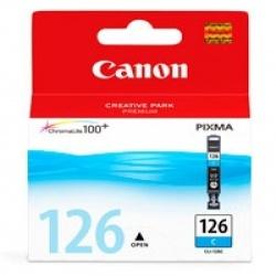 Cartucho Canon CLI-126 Cyan, 210 Páginas