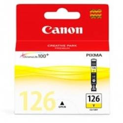 Cartucho Canon CLI-126 Amarillo, 210 Páginas