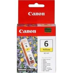 Tanque de Tinta Canon BCI-6Y Amarillo