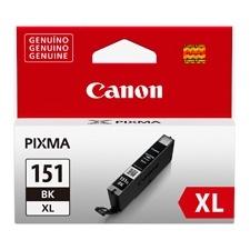 Tanque de Tinta Canon CLI-151 BK XL Negro 11ml, 5000 Páginas
