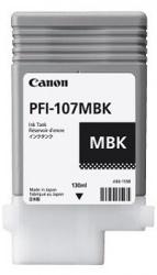 Tanque de Tinta Canon PFI-107MBK Negro Mate 130ml