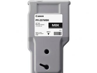 Tanque de Tinta Canon PFI-207MBK Negro Mate 300ml