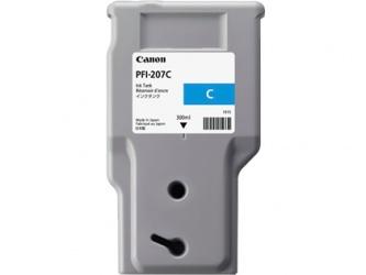 Tanque de Tinta Canon PFI-207C Cyan 300ml
