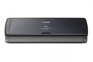 Scanner Canon imageFormula P-215II, Escáner Color, Escaneado Dúplex, USB 2.0/3.0, Negro/Gris