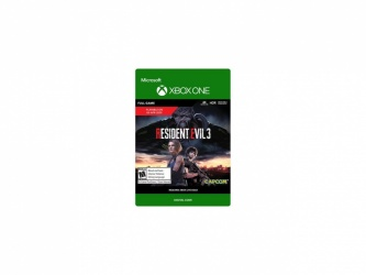 Resident Evil 3, Xbox One ― Producto Digital Descargable