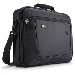 Case Logic Maletín de Poliéster AXNC-5 para Laptop 17.3'', Negro