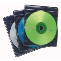 Case Logic Funda ProSleeves para CD/DVD, 120 Piezas, Negro