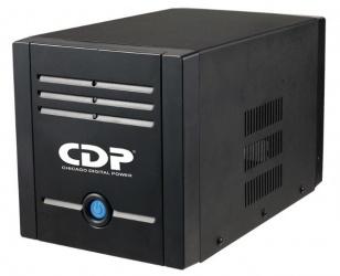 Regulador CDP AVR 2408, 1200W, 2400VA, 8 Contactos