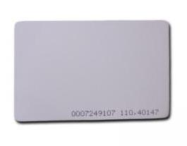 CDVI Tarjeta de Proximidad ISO, 0.8mm x 54mm x 85mm, 50 Piezas