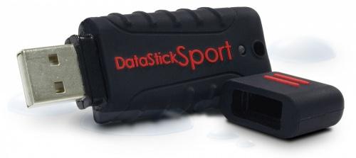 Memoria USB Centon DataStick Sport, 128GB, USB 2.0, Negro