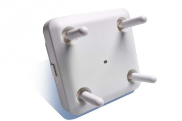 Access Point Cisco de Banda Dual Aironet 3800p, 5200 Mbit/s, 2x RJ-45, 2.4/5GHz, Configurable - no incluye Antenas