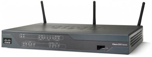 Router Cisco Fast Ethernet 881, Inalámbrico, 1x USB, 300 Mbit/s, con 3 Antenas