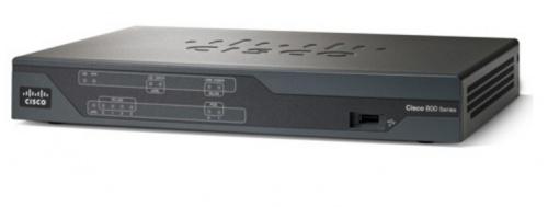 Router Cisco Ethernet C887 VDSL/ADSL, Alámbrico, 4x RJ-45