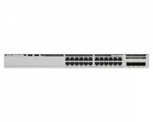 Switch Cisco Catalyst 9200, 24 Puertos PoE+, 128 Gbit/s, 16.000 Entradas - No Administrable ― ¡Requiere licencia de DNA para su funcionamiento, consulte a su ejecutivo!