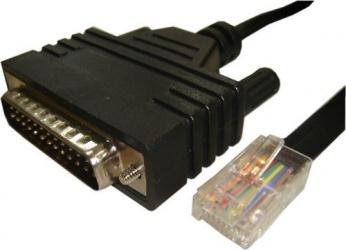 Cisco Cable Serial DB-25 Macho - RJ-45 Macho, 1.8 Metros
