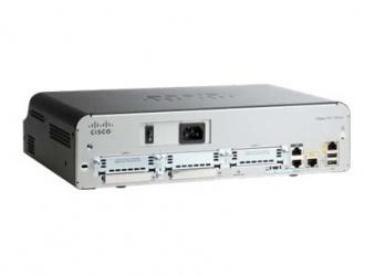 Router Cisco 1941 Security Bundle License PAK, Inalámbrico, 2x RJ-45, 2x USB