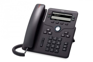 "Cisco Telefóno IP Phone 6851 3.5"", 4 Lineas, Altavoz, Negro"