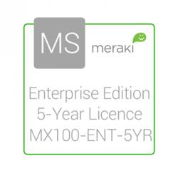 Cisco Meraki Licencia y Soporte Empresarial, 1 Licencia, 5 Años, para MX100
