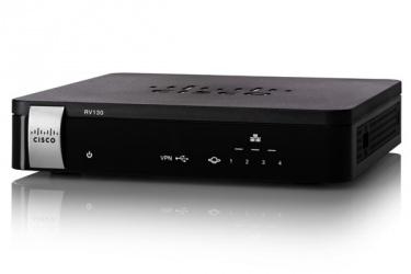 Cisco Router con Firewall RV130W, Alámbrico, 1000 Mbit/s, 2.4GHz, 4x RJ-45, 1x USB 2.0