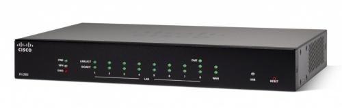 Router Cisco RV260 VPN con Firewall, Alámbrico, 8x RJ-45