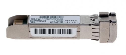 Cisco 10GBASE-SR SFP+ Módulo Transceptor para MMF SFP-10G-SR=, Alámbrico, 300m, 850nm