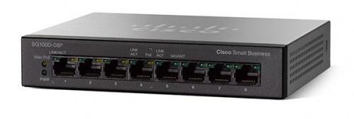 Switch Cisco Gigabit Ethernet SG110D-08, 8 Puertos 10/100/1000Mbps, 16 Gbit/s, 4000 Entradas - No Administrable
